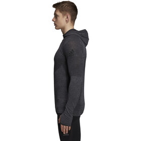 adidas Ultra Climaheat Primeknit LS Hoodie Men Black